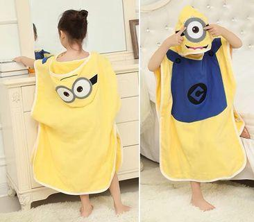 🚚 兒童浴巾 毛巾衣