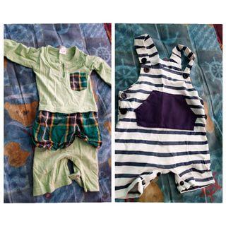 Jumpsuit dan baju raya baby preloved (boy)
