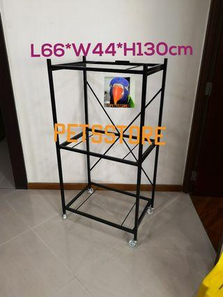3 tier 2 feet Cage Stand