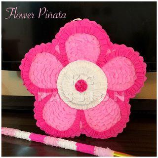 🎊 FLOWER PARTY PIÑATA • PINATA Customized • Personalized • Pull String • Hit Type Pinatas for Party Event Decoration • Table Centerpiece • Photo Booth Props