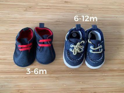 [BN] Pre-walker Soft Soles Baby Shoes (2 for $15)