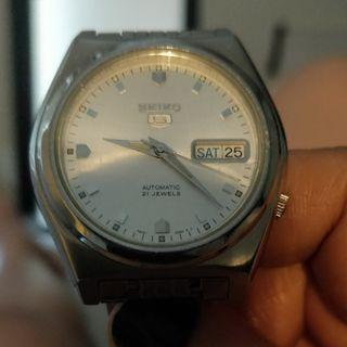 🚚 Vintage Seiko Watch 21 Jeweld