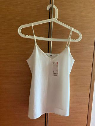 🚚 White camisole top
