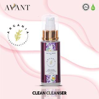 Argania Multiaction Cream Cleanser ( Facial Wash ) 60ml / argan oil / No harsh chemical (Parabens & SLS)