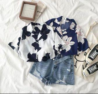 Oversized Floral Shirt