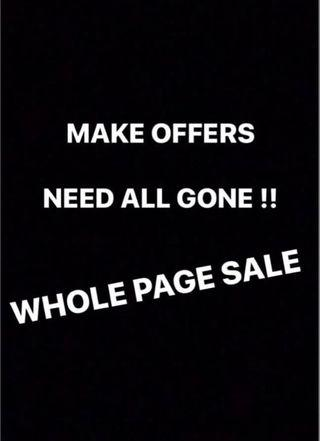 MAKE OFFERS - SO MANY BARGAINS