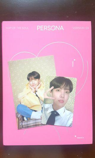 [UNSEALED] Album ver.3 BTS MOTS: Persona J-hope set