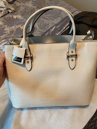 White bag famous brand from Brazil