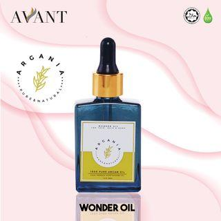 Argania Wonder Oil 30ml / vitamin E / radiating glow / youthful / eczema and acne