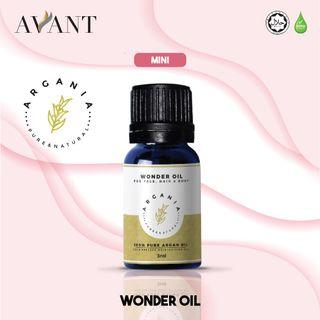 Argania Mini Wonder Oil 3ml / Moisturizing Oil / Facial Oil / Argan Oil / vitamin E / eczema and acne