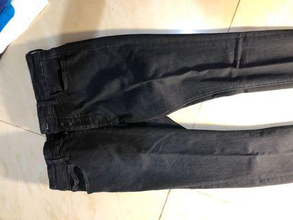 Jeans Pull and bear black