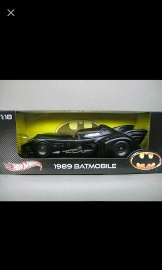 1/18 Batman batmobile diecast
