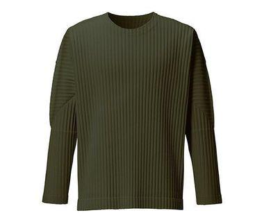 🚚 Homme Plisse Men's long Sleeves Olive