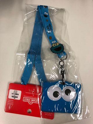 🚚 Cookie Monster Lanyard