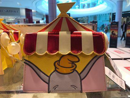 英國迪士尼仿皮小飛象Dumbo斜揹袋