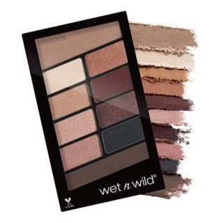 wet n wild 幻彩10色眼影盤-裸色星沙 8.5g