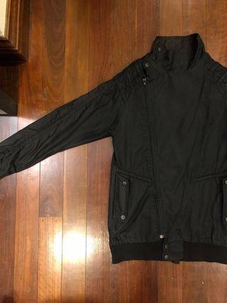 Black Bomber Jacket | fourskin