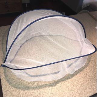 Portable mosquito net for pram