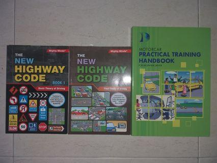 Driving Theory Books (Singapore Class 3)
