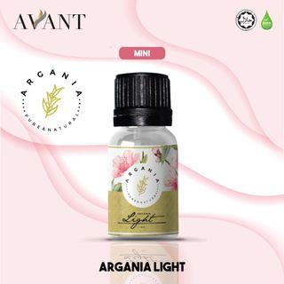 Argania Mini Light 3ml / travel pack / sample size / pure argan oil coupled / olive / lavender oil / bergamot oil