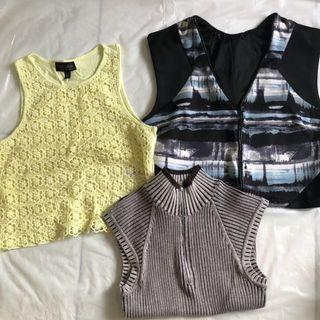 Sleeveless Tops