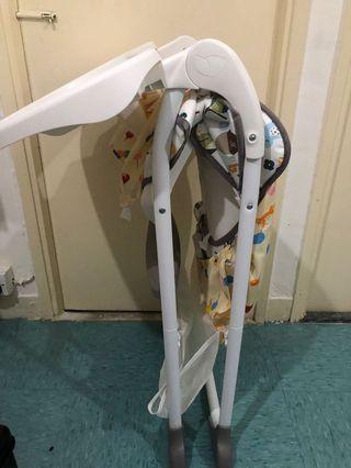 Joie high chair 食飯椅 可摺 英國牌子 超新淨