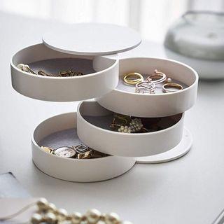 ♥️日式珠寶首飾整理盒帶蓋收納盒 #45 #顏色