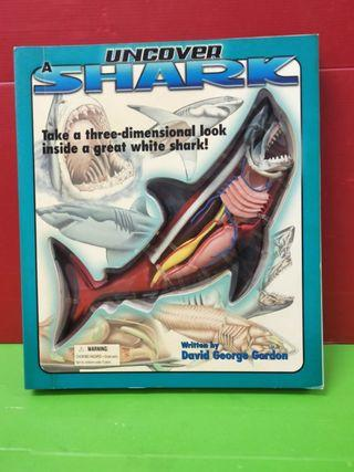 Uncover shark body.