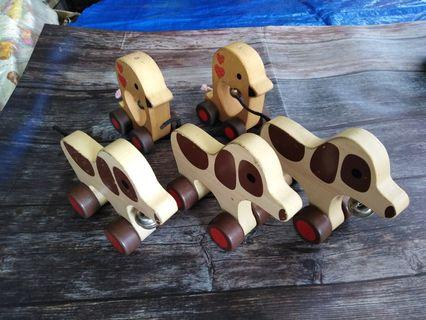 Wooden Animal with bell