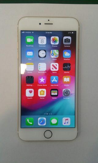 iPhone 6 plus 64gb myset gold