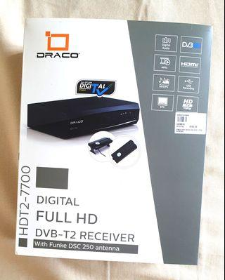 DRACO Digital TV Full HD Receiver with Antenna