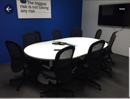 Meeting table ikea galant