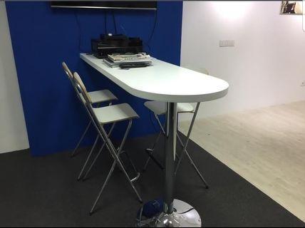 Ikea Bar counter and bar stool