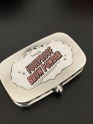雙色眉粉 Benefit foolproof brow powder