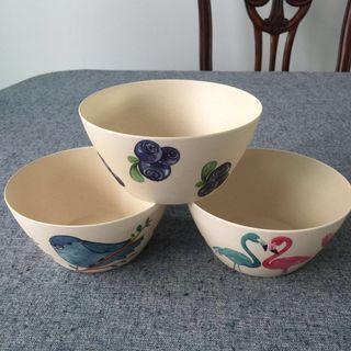🚚 Bamboo Fibre Bowls