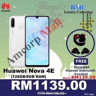 HUAWEI NOVA 4E 128GB /6GB RAM