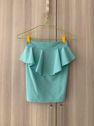Tosca peplum Skirt
