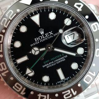 Rolex GMT Master II 116710 full set 2018 model