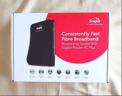Singtel WiFi Gigabit Router AC Plus (Latest Model)