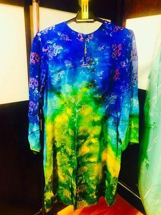 🚚 Baju Kurung Italian Silk