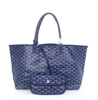 Goyard St Louis Shoulder Bag  - Blue