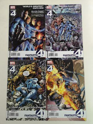 🚚 Fantastic Four World's Greatest (1998 3rd Series) Comics Set