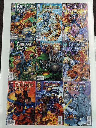 Fantastic Four Heroes Reborn (1996-1998 2nd Series) Comics Set