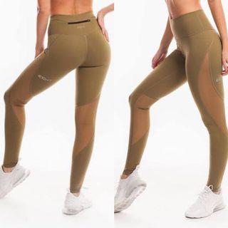 Echt condition leggings olive size 10