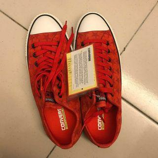 Converse帆布鞋 紅色星星款 男鞋
