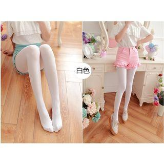 🧦OPAQUE COLOR FOOTED PANTYHOSE TIGHTS VELVET THICK STOCKINGS-3 COLORS🧦