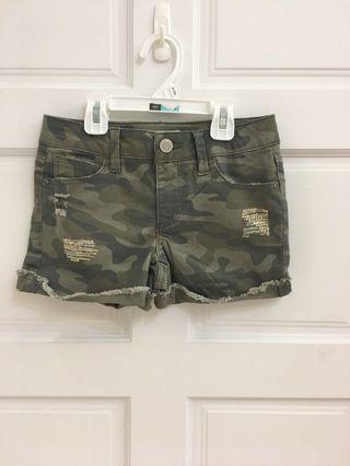 🚚 特惠款歐單Mudd girls設計款迷彩短褲