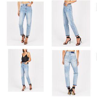 Ksubi chlo waisted jeans in hot cottee 26 (8/10)