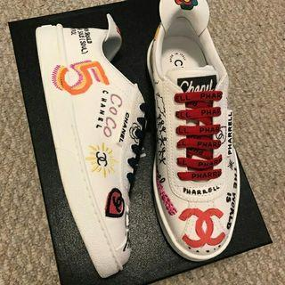 Chanel Pharell Collection Sneakers