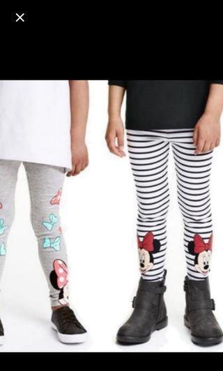 🚚 Mickey& Minnie Leggings